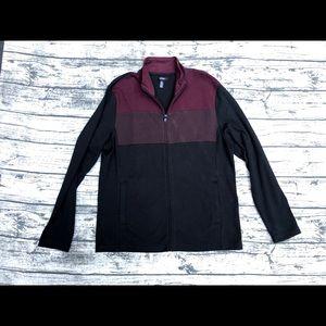 Men's Large NWOT Alfani Zip up Sweater Large